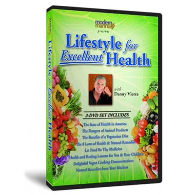 Lifestyle for Excellent Health DVD series Plus Cookbook